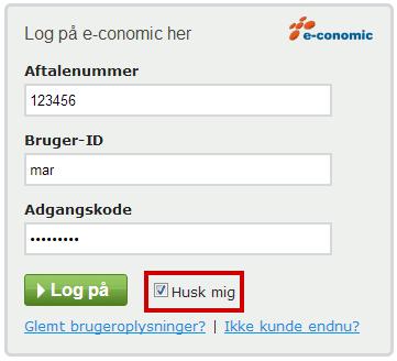 loginboks